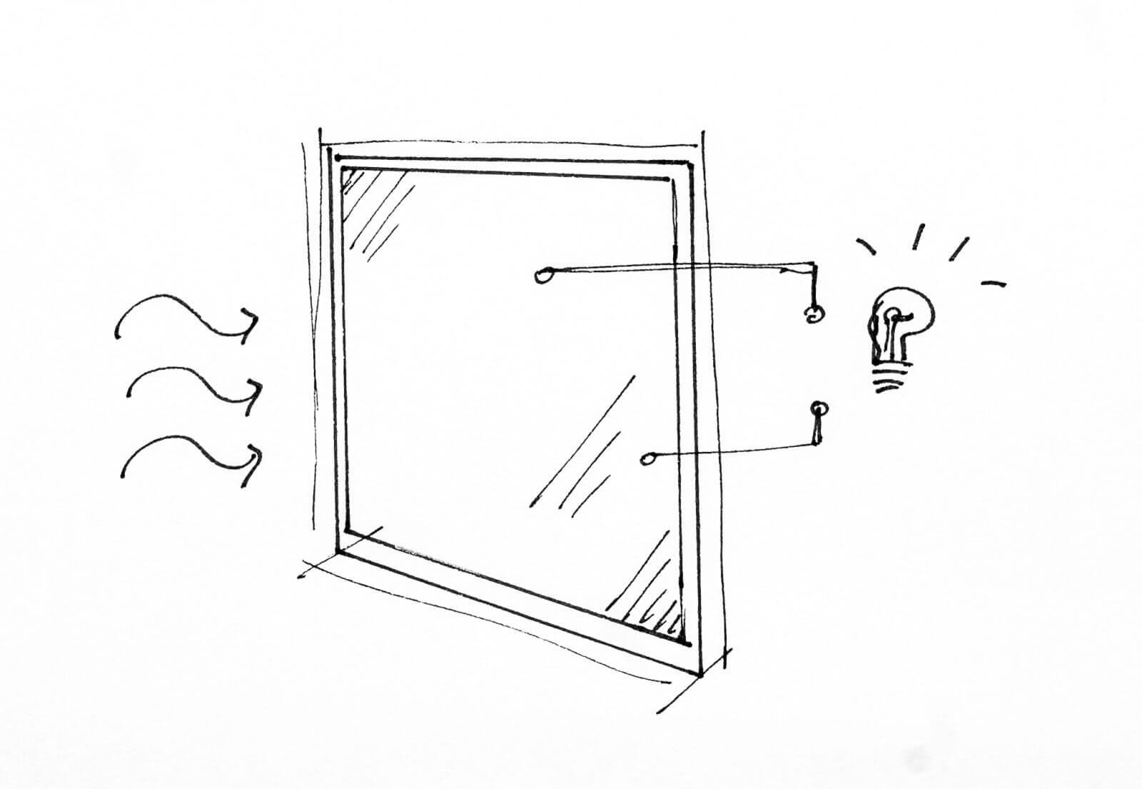 Okno z szybą fotowoltaiczną FUTURE ENERGY LINE