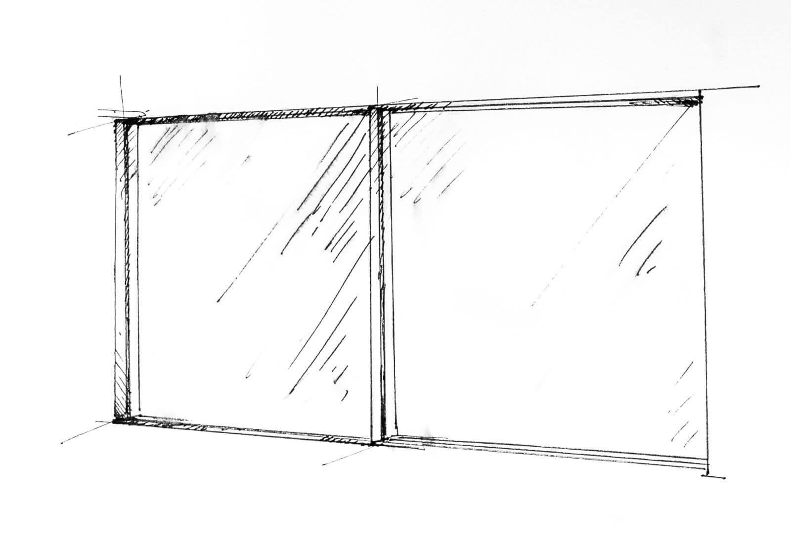 System drzwi przesuwnych z ukrytą ramą MB-SKYLINE